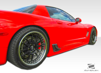 Chevy Corvette AC Edition Duraflex Side Skirts Body Kit 1997-2004
