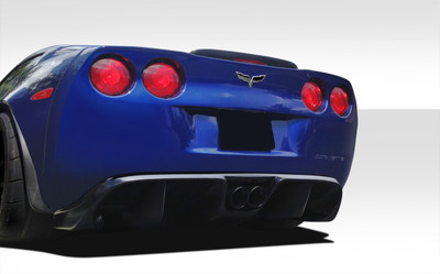 Chevy Corvette GT Racing Duraflex Rear Diffuser 2005-2013