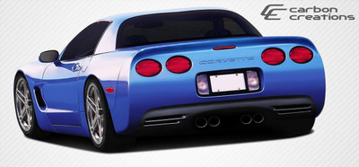 Chevy Corvette SP-R Carbon Fiber Creations Rear Body Kit Bumper 1997-2004