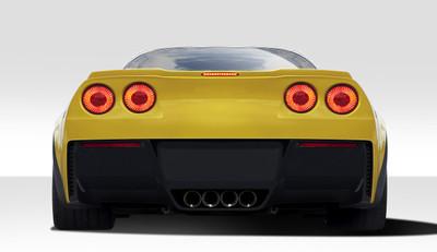 Chevy Corvette Stingray Z Duraflex Rear Body Kit Bumper 2005-2013