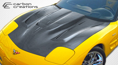 Chevy Corvette ZR Edition 2 Carbon Fiber Creations Body Kit- Hood 1997-2004