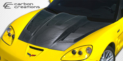 Chevy Corvette ZR Edition 2 Carbon Fiber Creations Body Kit- Hood 2005-2013