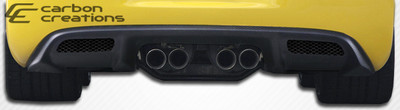 Chevy Corvette ZR Edition Carbon Fiber Creations Rear Diffuser 1997-2004
