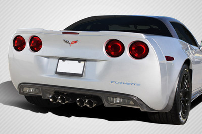 Chevy Corvette ZR Edition Carbon Fiber Creations Rear Diffuser 2005-2013