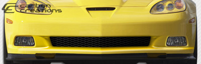Chevy Corvette ZR Edition Carbon Fiber Front Bumper Lip Body Kit 2005-2013
