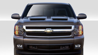 Chevy Silverado CV-X Duraflex Body Kit- Hood 2007-2013