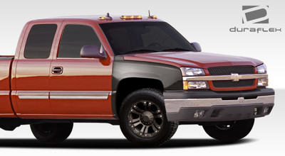 Chevy Silverado Off Road Bulge Duraflex Body Kit- Fenders 2003-2006