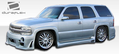 Chevy Suburban Platinum Duraflex Side Skirts Body Kit 2000-2006