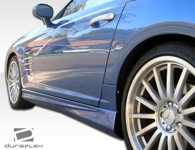 Chrysler Crossfire AMG Look Duraflex Side Skirts Body Kit 2004-2008