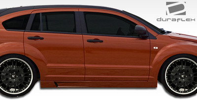 Dodge Caliber GT500 Duraflex Side Skirts Body Kit 2007-2012