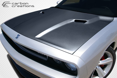 Dodge Challenger SRT Look Carbon Fiber Creations Body Kit- Hood 2008-2015