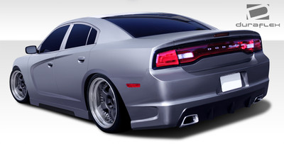 Dodge Charger Hot Wheels Duraflex Rear Body Kit Bumper 2011-2014