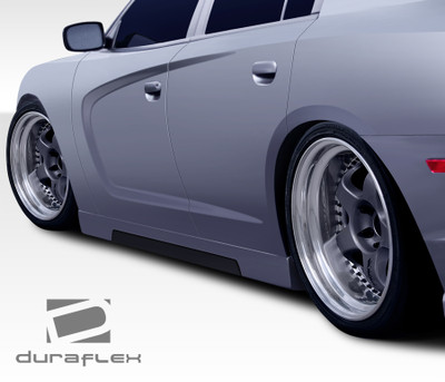 Dodge Charger Hot Wheels Duraflex Side Skirts Body Kit 2011-2014
