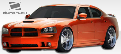 Dodge Charger SRT Look Duraflex Full 4 Pcs Body Kit 2006-2010