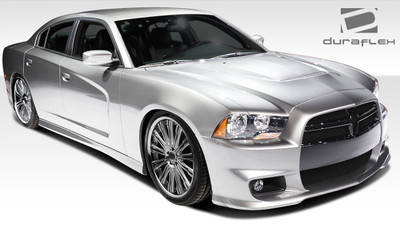 Dodge Charger SRT Look Duraflex Full 4 Pcs Body Kit 2011-2014