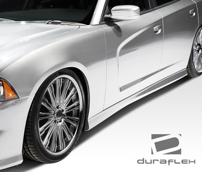 Dodge Charger SRT Look Duraflex Side Skirts Body Kit 2011-2014
