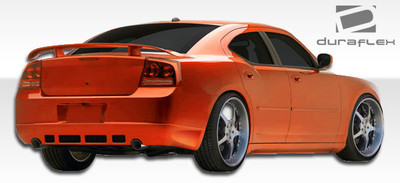 Dodge Charger VIP Duraflex Rear Body Kit Bumper 2006-2010