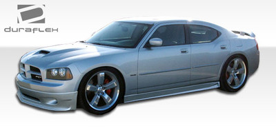 Dodge Charger VIP Duraflex Side Skirts Body Kit 2006-2010