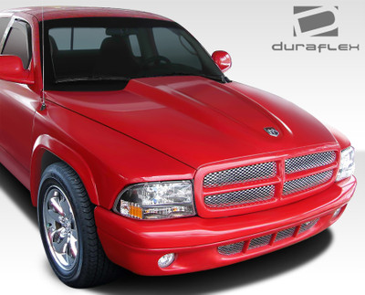 Dodge Dakota Cowl Duraflex Body Kit- Hood 1997-2004