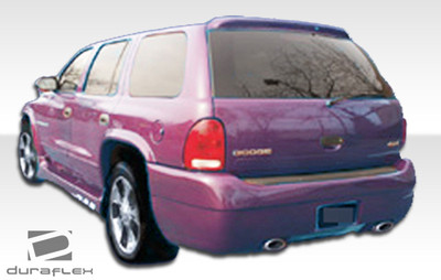 Dodge Durango Platinum Duraflex Rear Body Kit Bumper 1998-2003