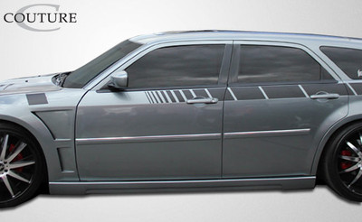 Dodge Magnum Luxe Couture Side Skirts Body Kit 2005-2010