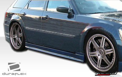 Dodge Magnum Quantum Duraflex Side Skirts Body Kit 2005-2010