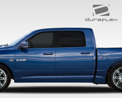 Dodge Ram MP-R Duraflex Side Skirts Body Kit 2009-2015