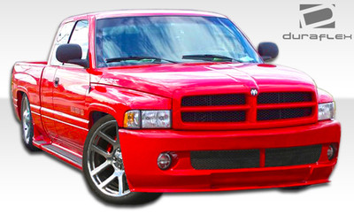 Dodge Ram SRT Look Duraflex Front Body Kit Bumper 1994-2001
