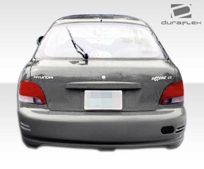Fits Hyundai Accent HB Evo Duraflex Rear Body Kit Bumper 1995-1999
