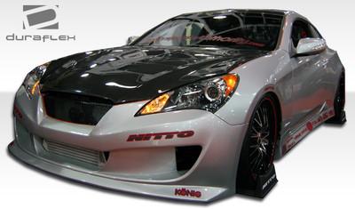 Fits Hyundai Genesis 2DR Hot Wheels Duraflex Full Body Kit 2010-2012