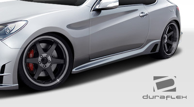 Fits Hyundai Genesis 2DR TP-R Duraflex Side Skirts Body Kit 2010-2015