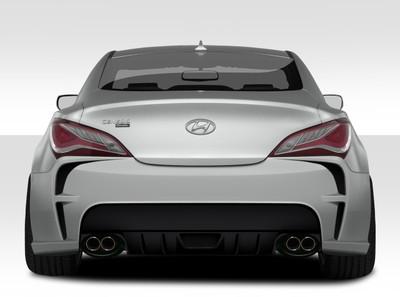 Fits Hyundai Genesis 2DR VG-R Duraflex Rear Body Kit Bumper 2010-2015