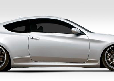 Fits Hyundai Genesis 2DR VG-R Duraflex Side Skirts Body Kit 2010-2015