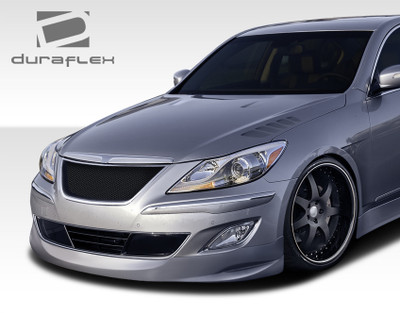 Fits Hyundai Genesis 4DR Executive Duraflex Front Bumper Lip Body Kit 2009-2011