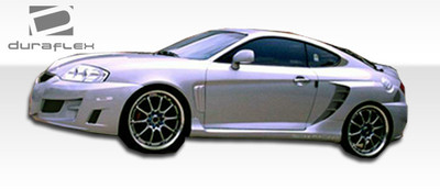 Fits Hyundai Tiburon SC-5 Duraflex Side Skirts Body Kit 2003-2006