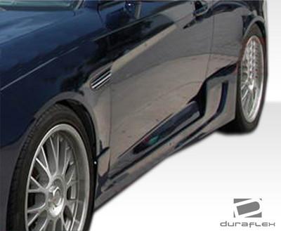 Fits Hyundai Tiburon Spec-R Duraflex Side Skirts Body Kit 2007-2008