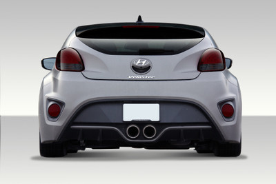 Fits Hyundai Veloster Turbo Look Duraflex Rear Body Kit Bumper 2012-2015