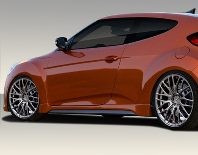 Fits Hyundai Veloster Turbo Look Duraflex Side Skirts Body Kit 2012-2015