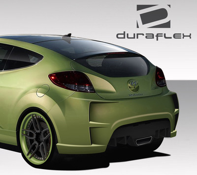 Fits Hyundai Veloster VG-R Duraflex Rear Body Kit Bumper 2012-2015
