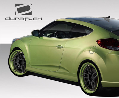 Fits Hyundai Veloster VG-R Duraflex Side Skirts Body Kit 2012-2015