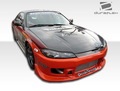 Fits Nissan 240SX 2DR C-1 Duraflex Full Body Kit 1989-1994