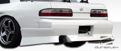 Fits Nissan 240SX 2DR Type U Duraflex Rear Body Kit Bumper 1989-1994