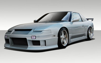 Fits Nissan 240SX 2DR Vector Duraflex Full Body Kit 1989-1994