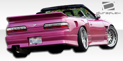 Fits Nissan 240SX 2DR V-Speed Duraflex Rear Body Kit Bumper 1989-1994