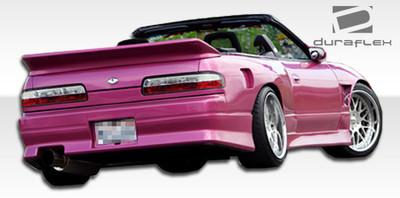 Fits Nissan 240SX 2DR V-Speed Duraflex Rear Body Kit Bumper 1989-1994