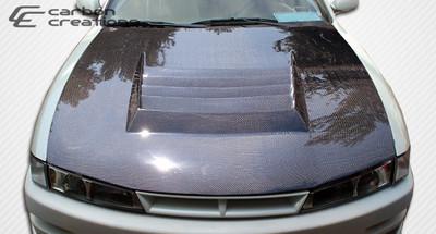 Fits Nissan 240SX D-1 Carbon Fiber Creations Body Kit- Hood 1997-1998