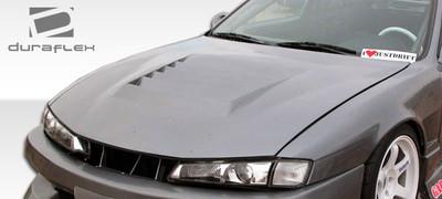 Fits Nissan 240SX D-1 Duraflex Body Kit- Hood 1997-1998