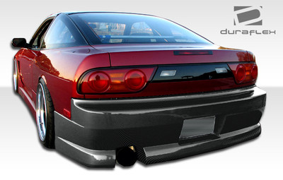 Fits Nissan 240SX HB GP-1 Duraflex Rear Body Kit Bumper 1989-1994