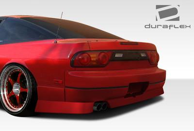 Fits Nissan 240SX HB GT-1 Duraflex Rear Body Kit Bumper 1989-1994