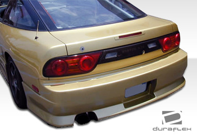 Fits Nissan 240SX HB M-1 Duraflex Rear Body Kit Bumper 1989-1994